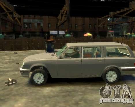 ГАЗ 330221 для GTA 4 вид слева