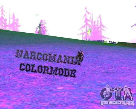 NarcomaniX Colormode для GTA San Andreas