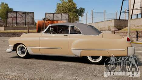 Cadillac Series 62 convertible 1949 [EPM] v4 для GTA 4 вид слева
