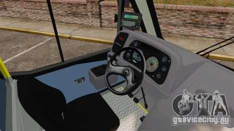 Mercedes-Benz Neobus Thunder LO-915 для GTA 4 вид снизу