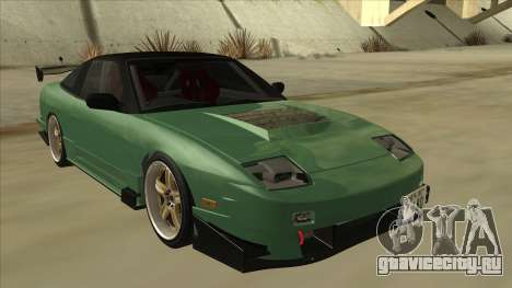 Nissan 180SX Uras GT для GTA San Andreas вид слева