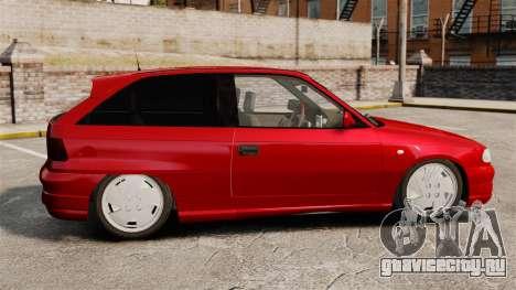 Opel Astra GSi 1993 для GTA 4 вид слева