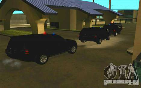 Mitsubishi Pajero для GTA San Andreas вид изнутри