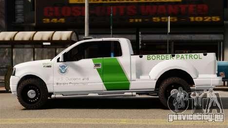 Ford F-150 v3.3 Border Patrol [ELS & EPM] v3 для GTA 4 вид слева