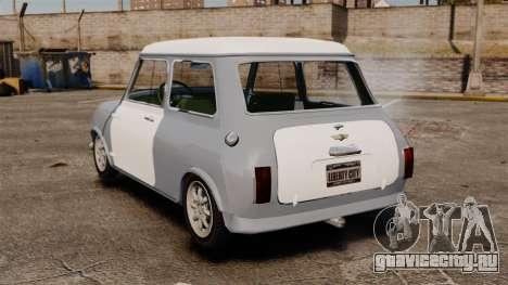 Mini Cooper S 1968 для GTA 4 вид сзади слева