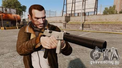 Тактический пистолет-пулемёт MP9 v3 для GTA 4 третий скриншот