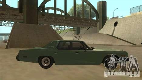Dodge Monaco V10 для GTA San Andreas вид сзади слева