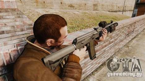 Автомат MM118 AK для GTA 4 второй скриншот