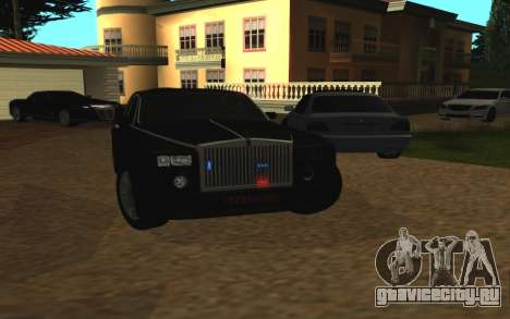 Rolls-Royce Phantom v2.0 для GTA San Andreas вид справа