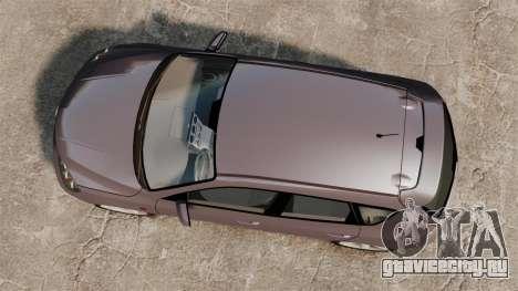Mazda 3 Sport для GTA 4 вид изнутри