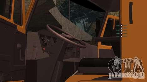 КамАЗ 260 Turbo для GTA San Andreas вид сбоку