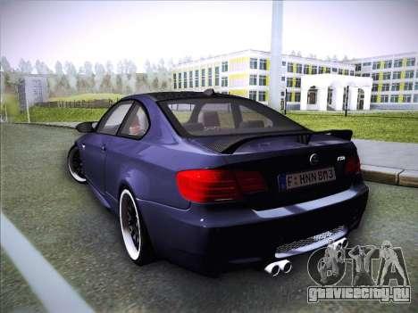 BMW M3 E92 Hamann 2012 для GTA San Andreas вид слева