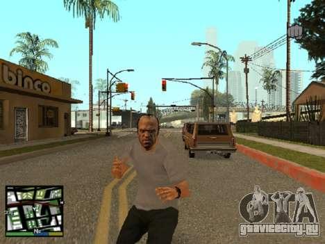 Trevor Filips из GTA 5 для GTA San Andreas второй скриншот