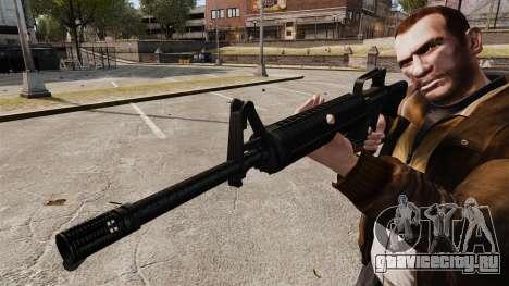 M16 A2 для GTA 4 четвёртый скриншот