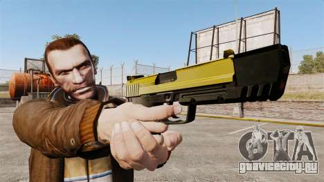 Самозарядный пистолет H&K USP v4 для GTA 4 третий скриншот
