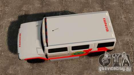 Новая раскраска Noose Patriot для GTA 4 вид справа