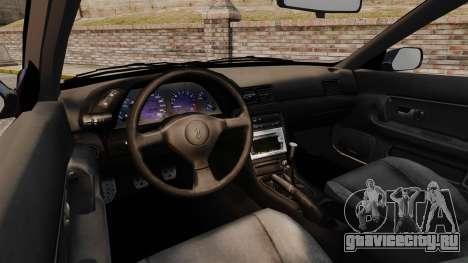 Nissan Skyline R32 GTS-t для GTA 4 вид сзади