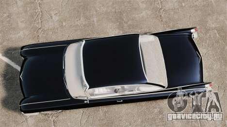 Cadillac Eldorado 1959 v2 для GTA 4 вид справа