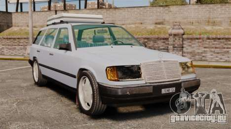 Mercedes-Benz W124 Wagon (S124) для GTA 4