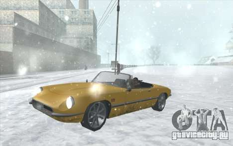 Snow San Andreas 2011 HQ - SA:MP 1.1 для GTA San Andreas восьмой скриншот