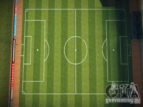 Футбольное поле для GTA San Andreas второй скриншот