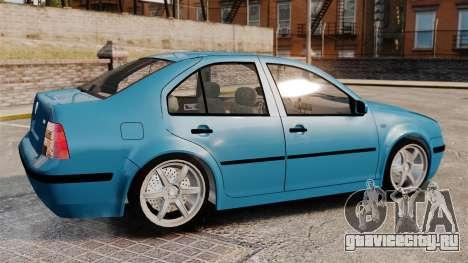 Volkswagen Bora для GTA 4 вид слева