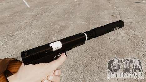 Самозарядный пистолет Glock 17 v1 для GTA 4 второй скриншот