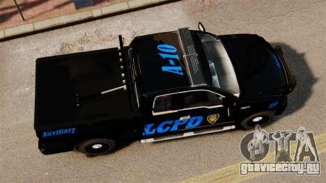 Ford F-150 v3.3 LCPD Auxiliary [ELS & EPM] v2 для GTA 4 вид справа
