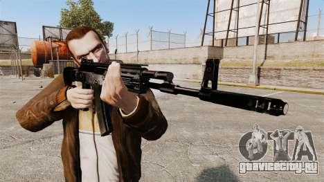 Автомат Калашникова AK-12 для GTA 4 третий скриншот