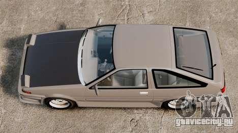 Toyota Corolla GT-S AE86 Trueno для GTA 4
