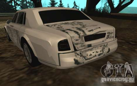 Rolls-Royce Phantom v2.0 для GTA San Andreas вид снизу