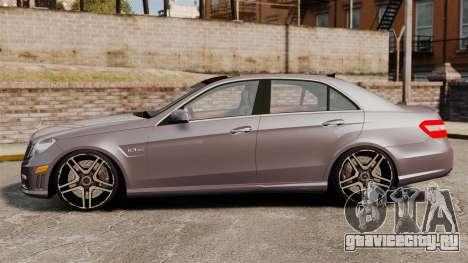 Mercedes-Benz E63 AMG для GTA 4 вид слева