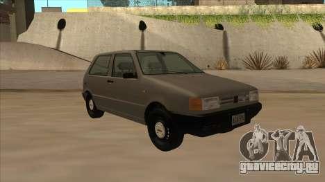 Fiat Uno 1995 для GTA San Andreas вид слева