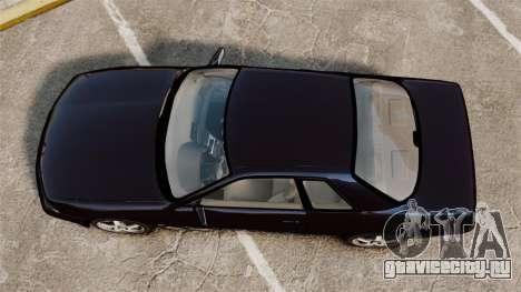 Nissan Skyline R32 GTS-t для GTA 4 вид справа