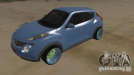Nissan Juke Lowrider для GTA San Andreas