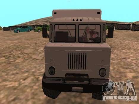 Газ 66 Вахта для GTA San Andreas вид сзади