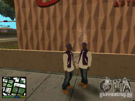 Баллас для GTA San Andreas второй скриншот