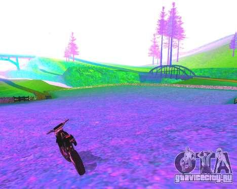NarcomaniX Colormode для GTA San Andreas третий скриншот
