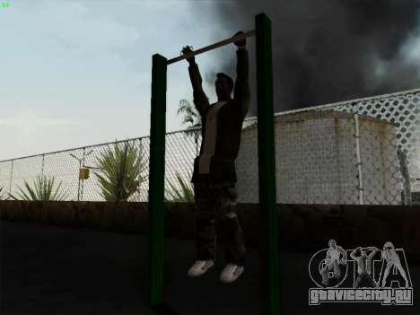 Турник для GTA San Andreas