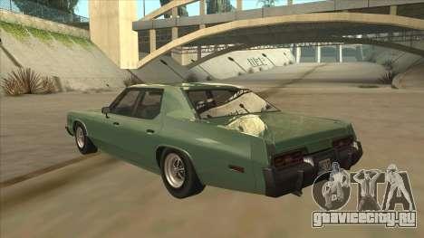 Dodge Monaco V10 для GTA San Andreas вид сзади