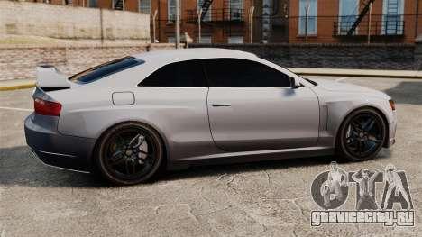 Audi S5 EmreAKIN Edition для GTA 4 вид слева
