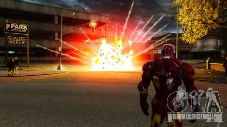 Железный Человек IV v2.0 для GTA 4 шестой скриншот