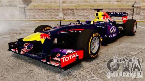 Болид Red Bull RB9 v2 для GTA 4