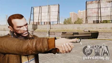 Самозарядный пистолет H&K USP v2 для GTA 4