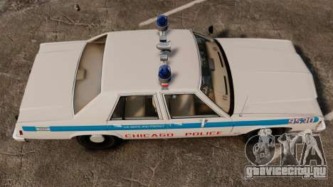 Ford LTD Crown Victoria 1987 [ELS] для GTA 4 вид справа