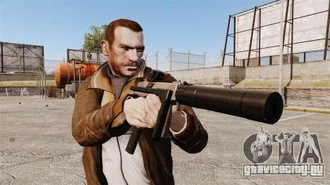Тактический пистолет-пулемёт MP9 v1 для GTA 4 третий скриншот