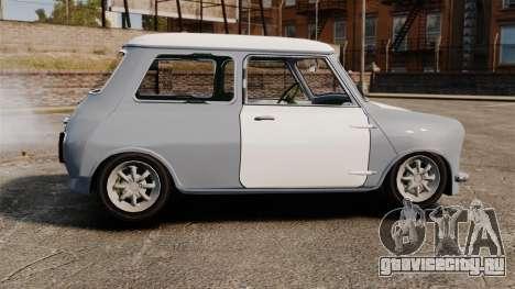 Mini Cooper S 1968 для GTA 4 вид слева