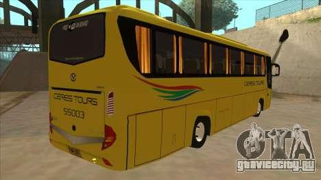 Yanson Legacy - CERES TOURS 55003 для GTA San Andreas вид справа