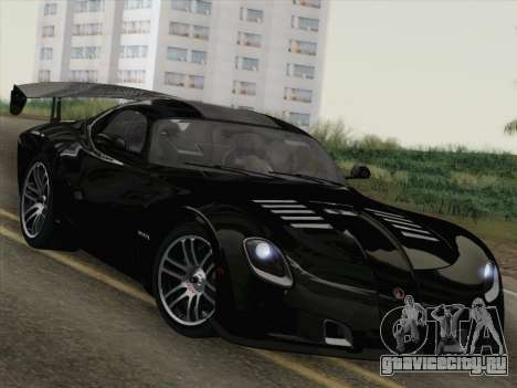 Devon GTX 2010 для GTA San Andreas двигатель