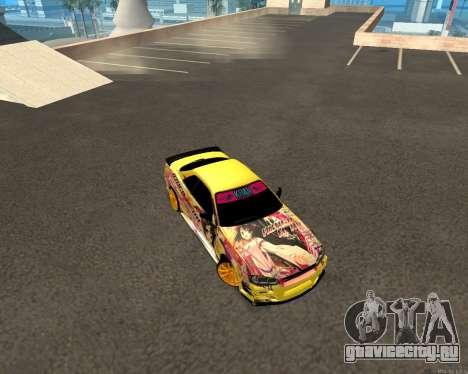 Nissan Skyline R34 Azusa Mera для GTA San Andreas вид сзади